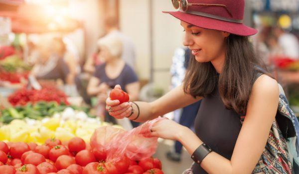 Variety Matching tomatoes consumer supermarket